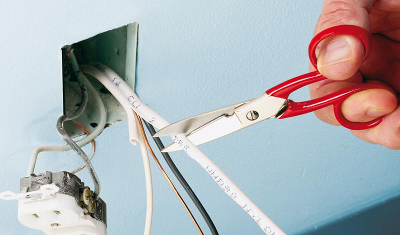 Ножницы для телефонного кабеля и проводов
