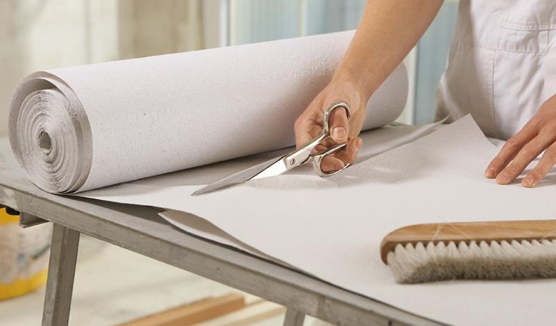 Ножницы для резки бумаги и обоев