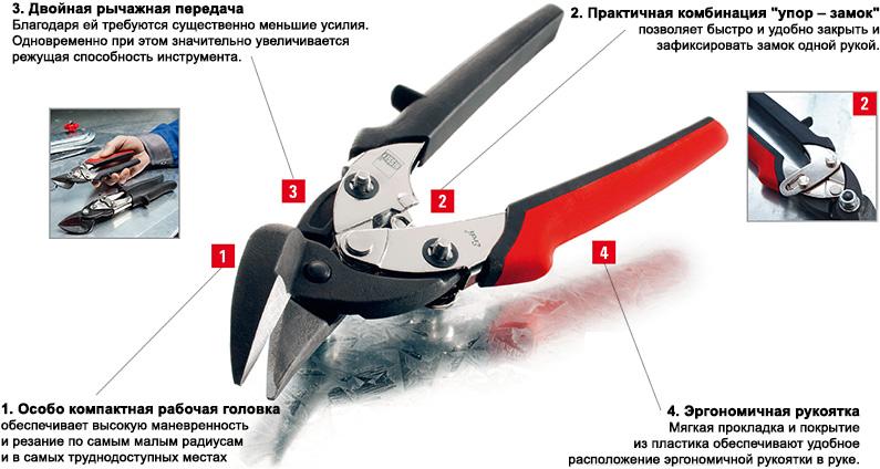 Универсальные ножницы