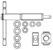 Запасная часть, шпиндель для GRA BESSEY 3100562