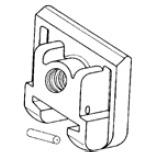 Запасная часть, зажимной кулачок для TC BESSEY 3100921